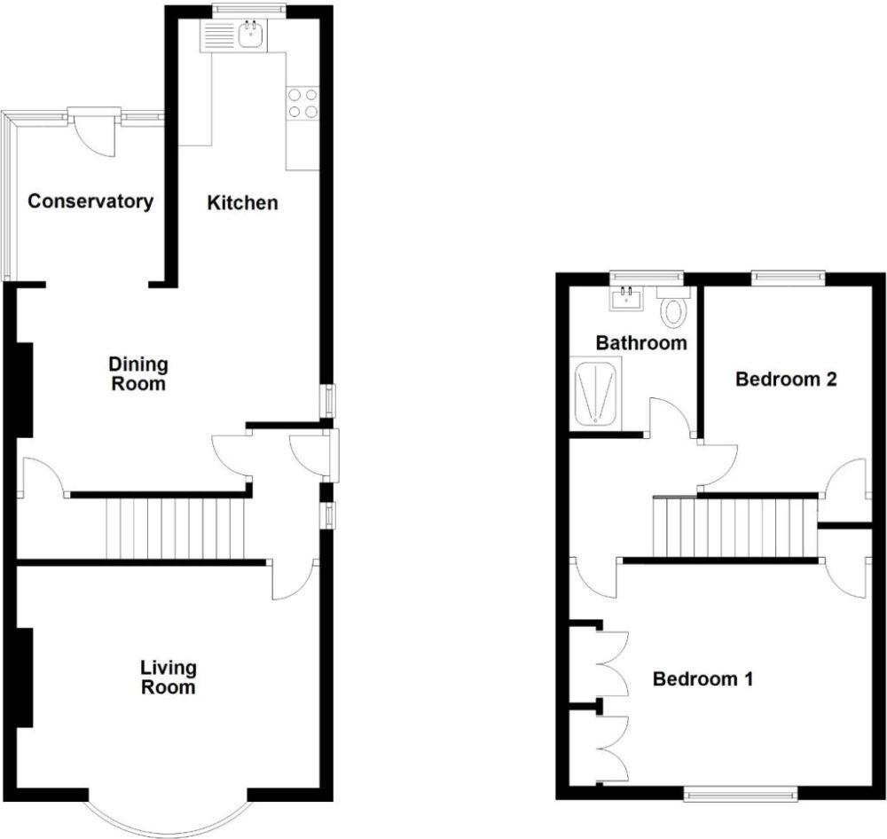 Sandringham Drive, Whitley Bay, NE25 9PF floorplan
